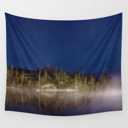 Midnight Mist Wall Tapestry