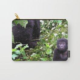 Uganda, Africa, Gorillas Carry-All Pouch