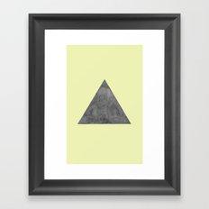 Lemon Drop Framed Art Print