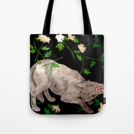 Wolf in ecstasy Tote Bag