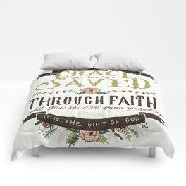 36/52: Ephesians 2:8 Comforters