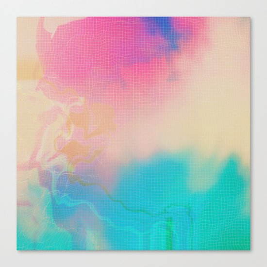 Glitch 06 Canvas Print