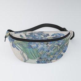 Vincent van Gogh - Irises (1890) Fanny Pack