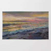 heaven Area & Throw Rugs featuring Heaven by Michael Creese