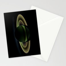 Glorious view of Saturn Stationery Cards