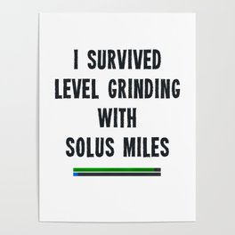 I survived level grinding - Second Age of Retha Poster