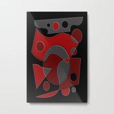 Abstract #319 Metal Print