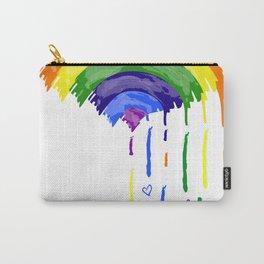 Love Rainbow Rain Carry-All Pouch