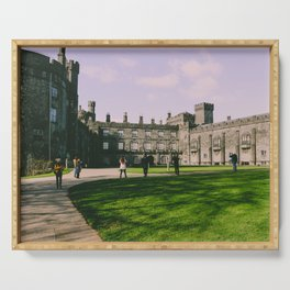 Kilkenny castle ireland Serving Tray