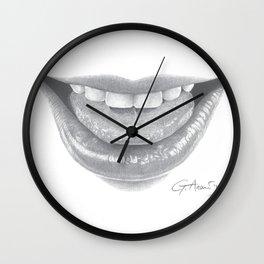 Malizia / Malice - Naughty Lips - Mouth Wall Clock