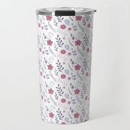 Flower p Travel Mug