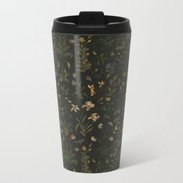 Old World Florals Metal Travel Mug
