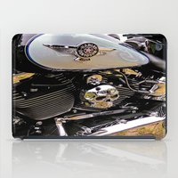 motorbike iPad Cases featuring  Motorbike  by Scenic View Photography