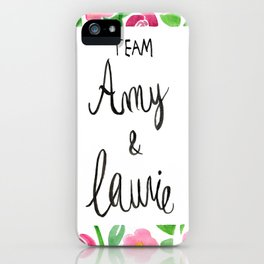 Team Amy x Laurie - Pink Palette iPhone Case