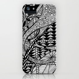 tangles iPhone Case