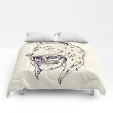 WOLF HAT Comforters