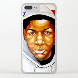 Trayvon Clear iPhone Case