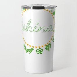 Anishinaabe Ojibwe Chippewa Circle of Life Wreath Pullover Hoodie Travel Mug