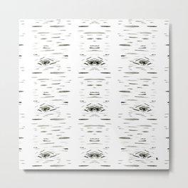 Birchy Metal Print