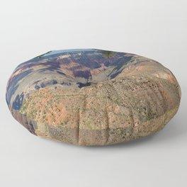 Battleship Rock, Grand Canyon NP, AZ -- Just after sunrise Floor Pillow