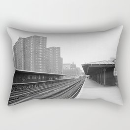 125TH STREET and BROADWAY STATION Rectangular Pillow