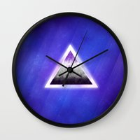 asexual Wall Clocks featuring space ace by D0ZE