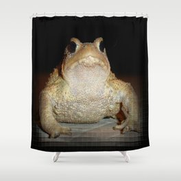 Common European Toad Shower Curtain