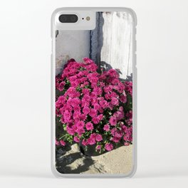 Rustic Bouquet Clear iPhone Case