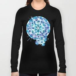 Snow Mandala Long Sleeve T-shirt