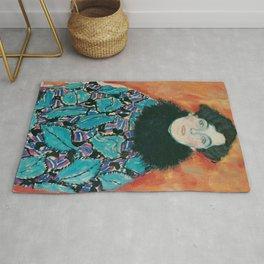 Gustav Klimt - Johanna Staude Rug