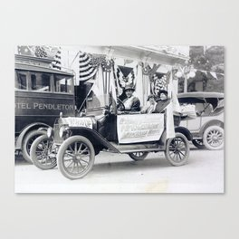 Women's Suffrage Movement in Oregon (September 23, 1916) Canvas Print