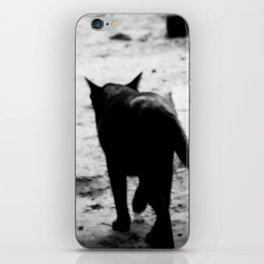 All In Black iPhone Skin