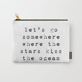 stars and the ocean Carry-All Pouch