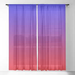 Radiant Ombre Sheer Curtain