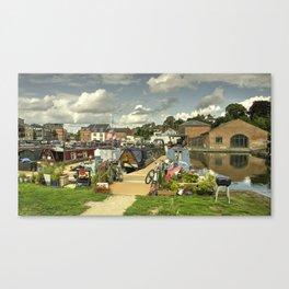 Diglis Basin Canvas Print