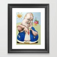 LoLz Framed Art Print