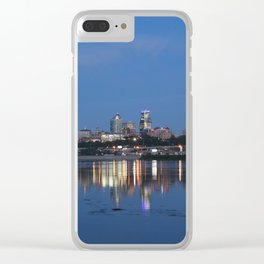 Under the Stars and Over the Water Clear iPhone Case