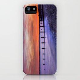 Sunset over Dymchurch iPhone Case