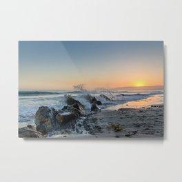 Santa Barbara Coastline Metal Print
