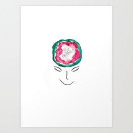 you've got a beautiful brain Art Print