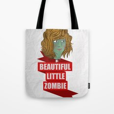 beautiful little zombie Tote Bag