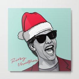 Risky Christmas Metal Print