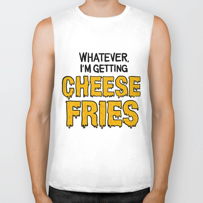 Cheese Fries Biker Tank