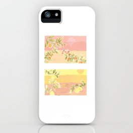 Sunrise Lovers iPhone Case