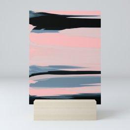 Soft Determination Peach Mini Art Print