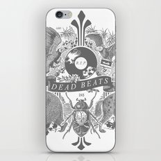 DEAD BEATS iPhone & iPod Skin