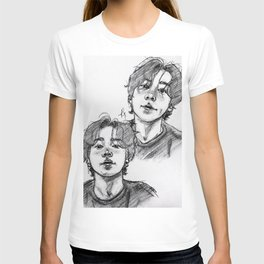 Jungkook long hair T-shirt