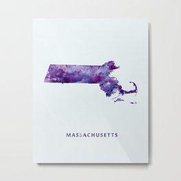 Massachusetts Metal Print