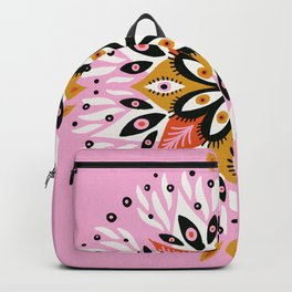 Gazing Mandala – Pink Palette Backpack