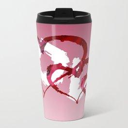Triple Heart Love Travel Mug